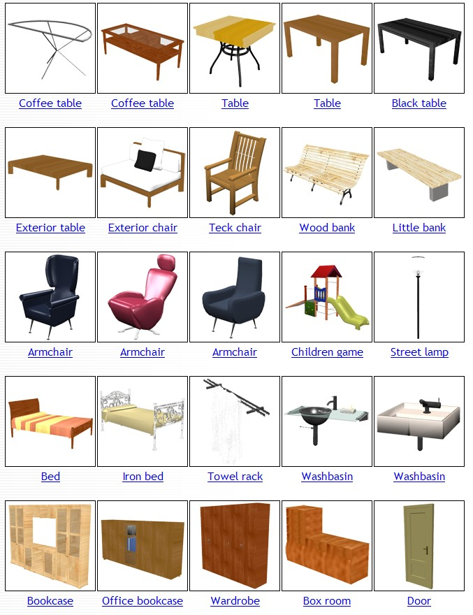 Practice vocabulary in english academia britannia - Objetos para decorar una casa ...